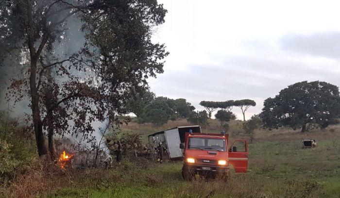 incendio campo rom7