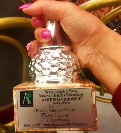 premio AlberoAndronico Maria Corrao 1