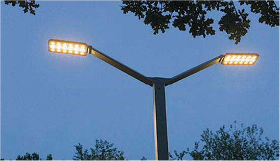Illuminazione pubblica pomezia passa al led for Illuminazione stradale led