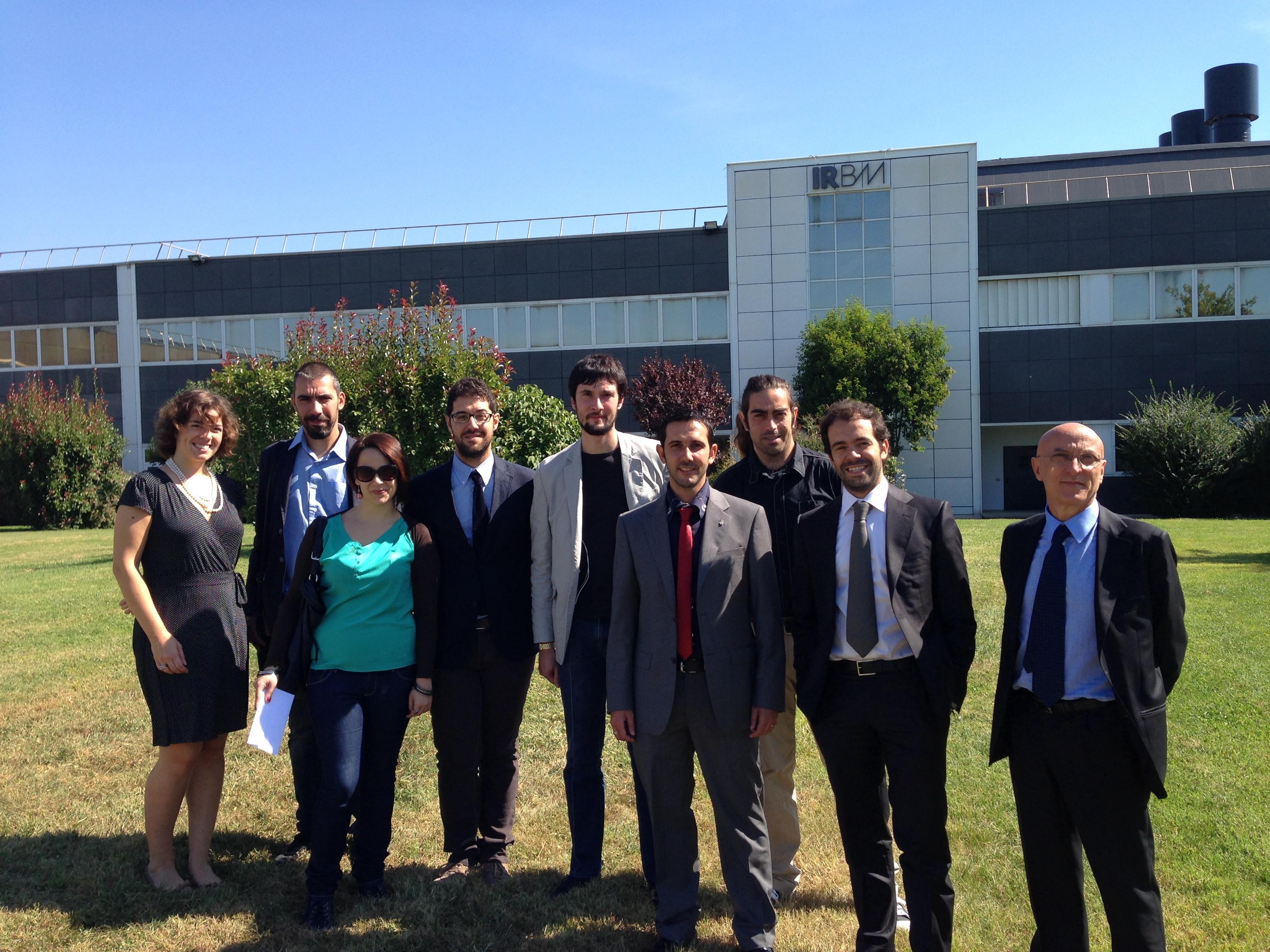 Irbm il sindaco in visita incontra i deputati del for Deputati cinque stelle