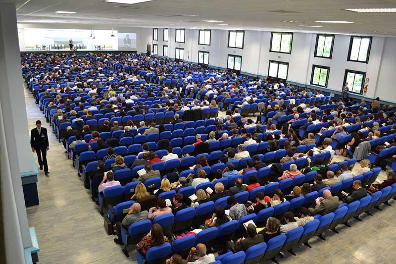 Panoramica Sala Assemblee Roma