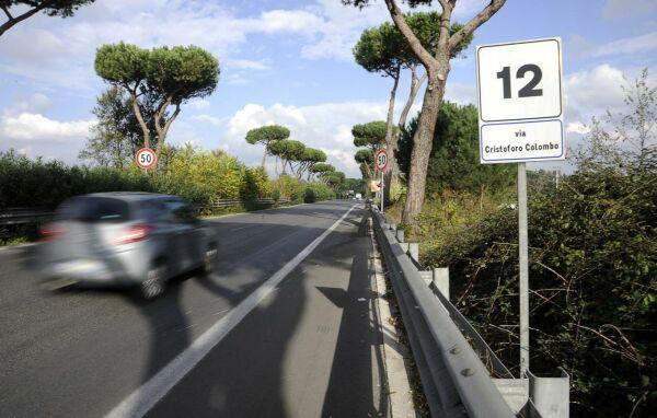 Ostia si procede a rilento sulla colombo traffico verso - Da roma porta verso il mare ...