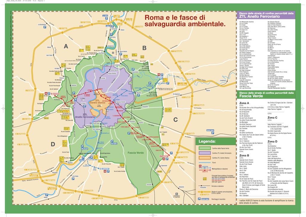 Roma domani stop alle auto pi inquinanti for Citta tedesca nota per le fabbriche di auto
