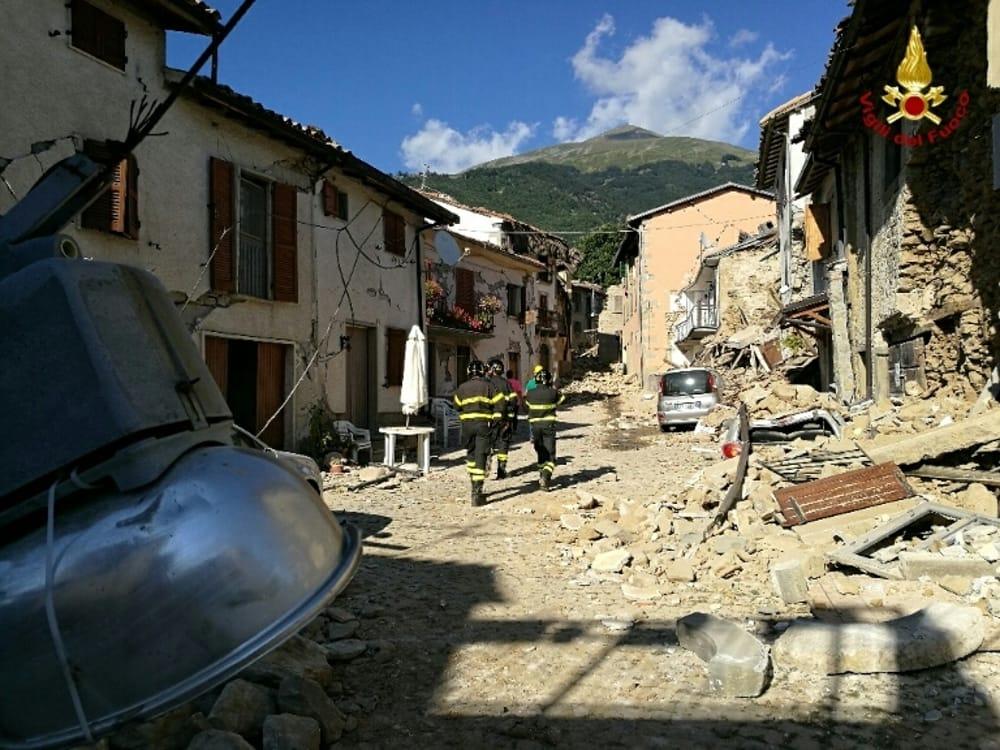Terremoto Amatrice 26 agosto