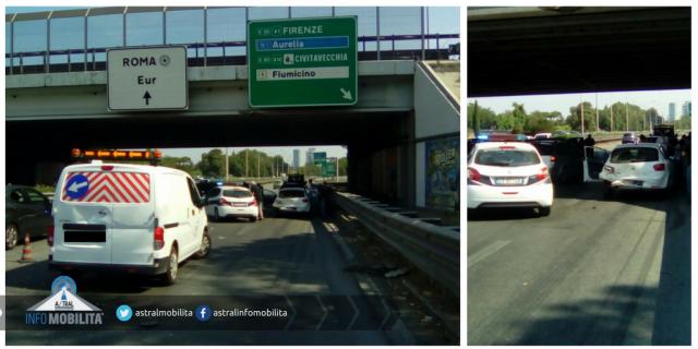 Incidente mortale sulla Pontina, strada chiusa in entrambe le direzioni