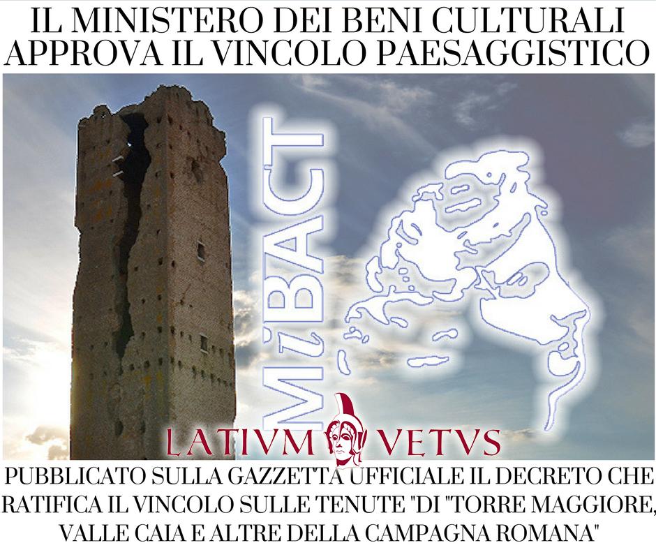 Torre maggiore e valle caia vincono i cittadini il for Vincolo paesaggistico
