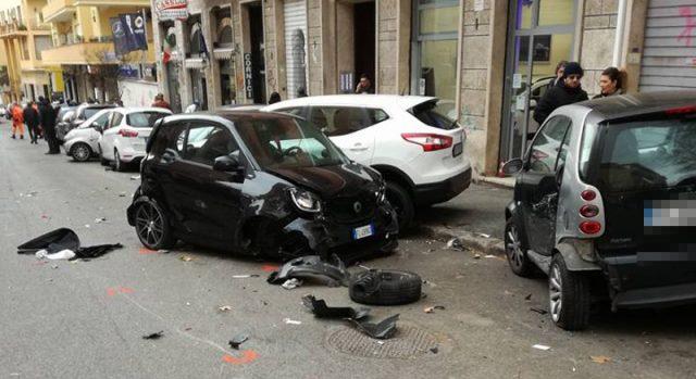 Balduina: incidente mortale in via Marziale