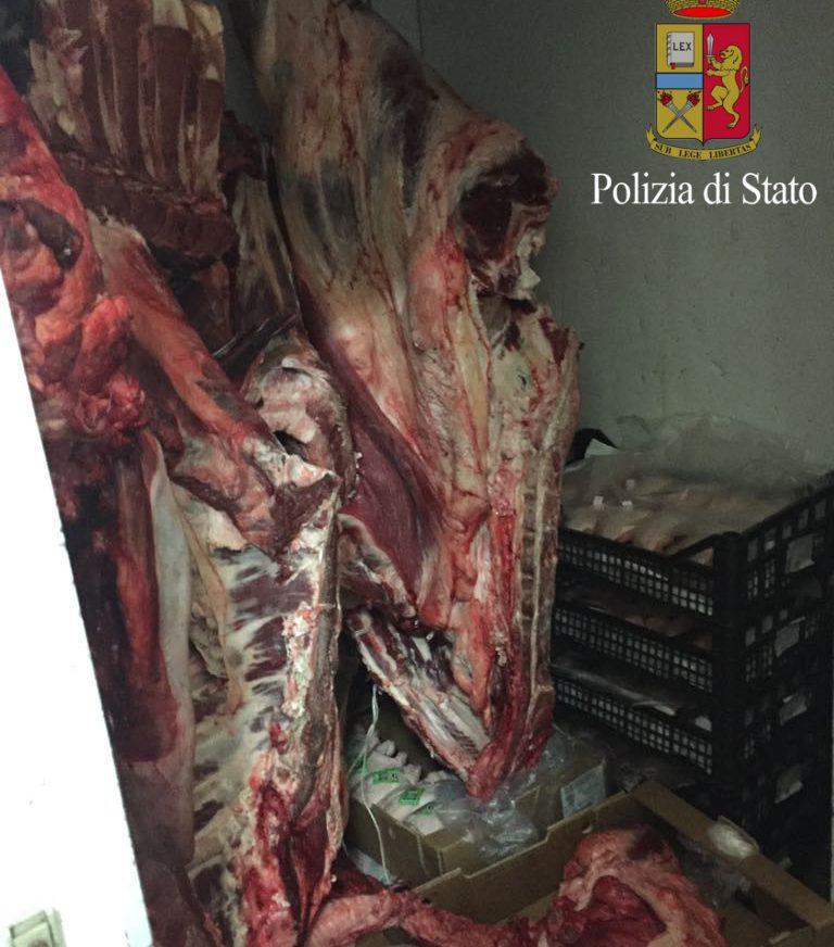 Pericolo per la salute pubblica chiusa macelleria a roma - Commissariato porta maggiore ...