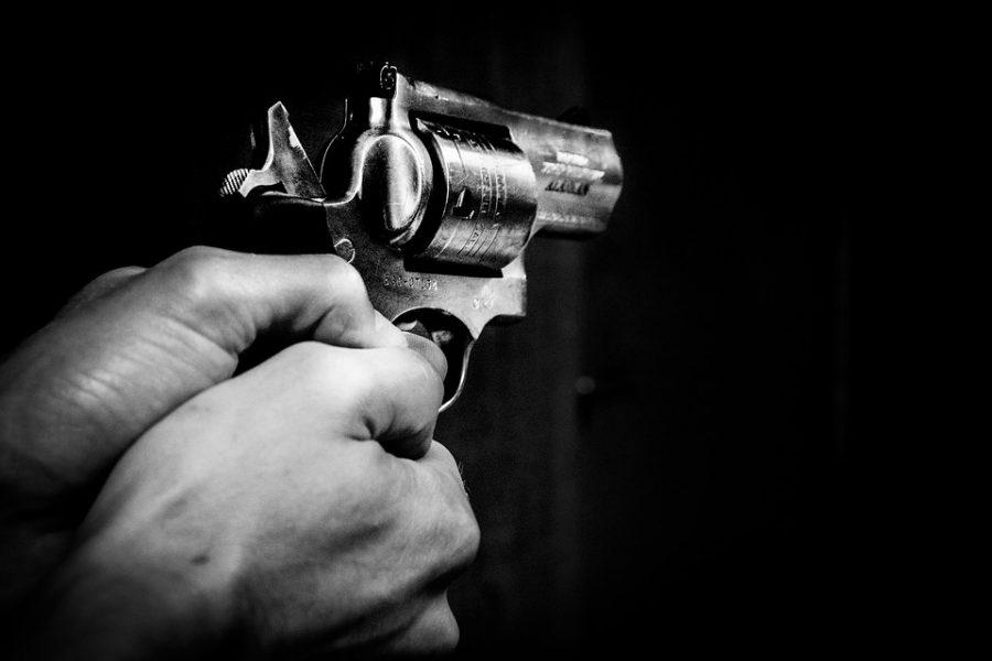 minacce civitavecchia pistola