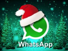 Auguri di Natale 2018 su WhatsApp
