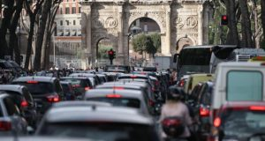 blocco traffico roma 21 22 febbraio 2019
