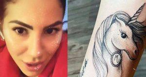 Giulia De Lellis tatuaggio