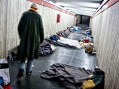 Emergenza freddo a Roma: aperte le stazioni metro di notte