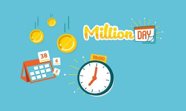Million Day 2 dicembre 2019