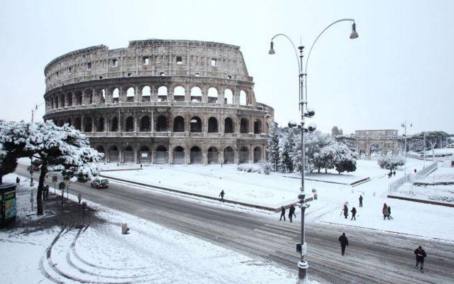 Neve Roma Febbraio 2021