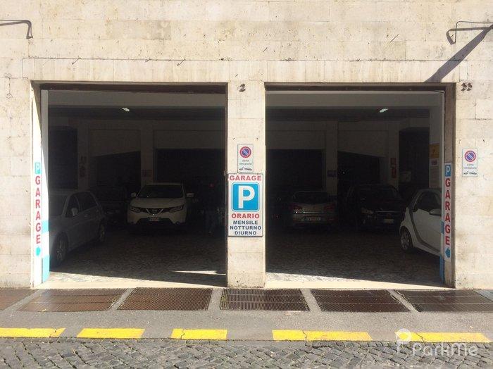 addio alle strisce bianche del parcheggio roma