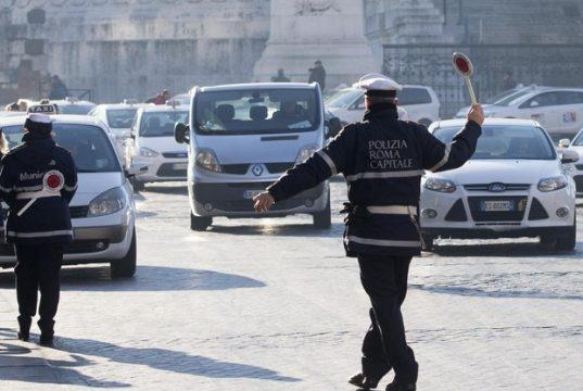 Blocco traffico Roma 19 e 20 febbraio