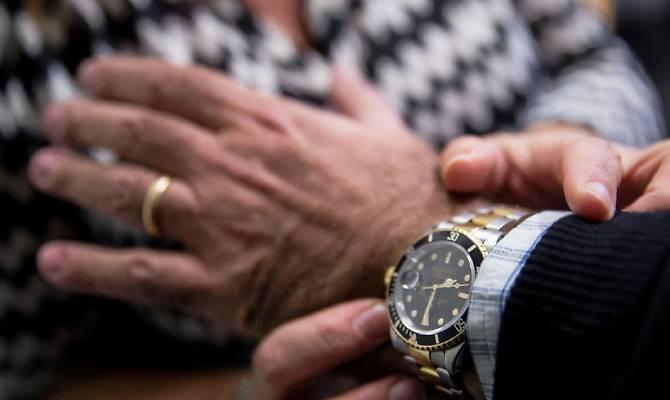 Derubato Rolex roma