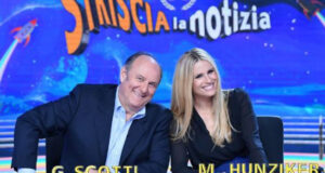 Michelle Hunziker e Gerry Scotti