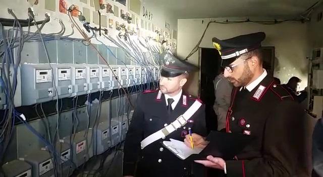 furto energia elettrica-carabinieri-2-ottobre