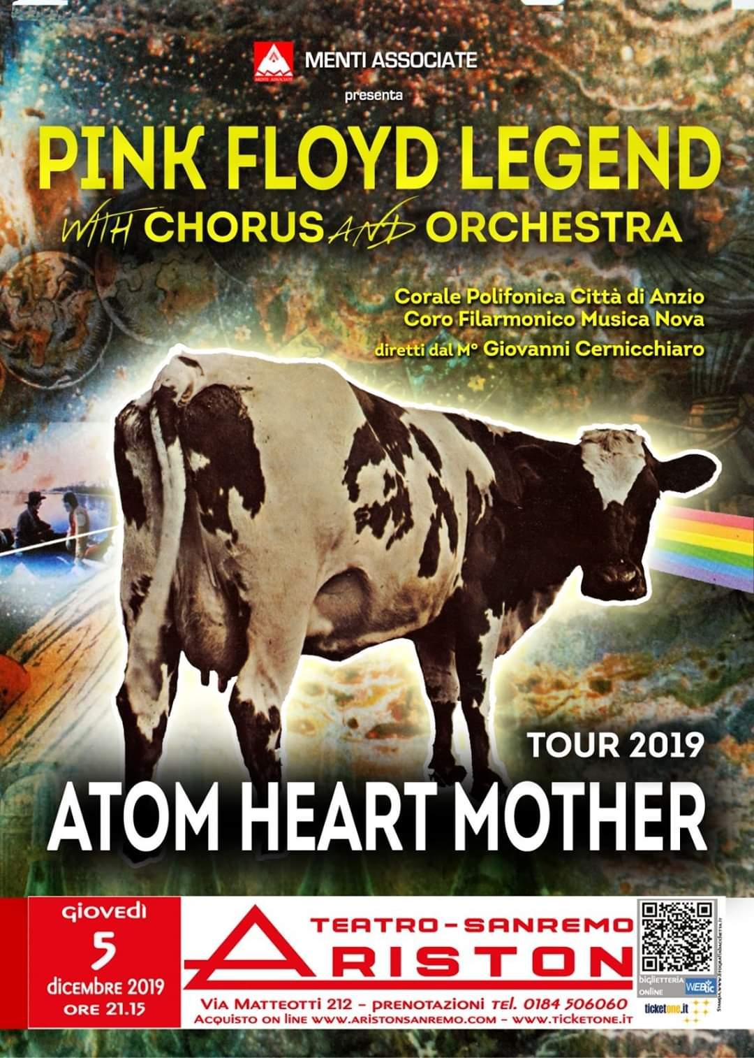 Anzio: Corale Polifonica e Pink Floyd Legend protagonisti a Sanremo con 'Atom Heart Mother tour' - Il Corriere della Città