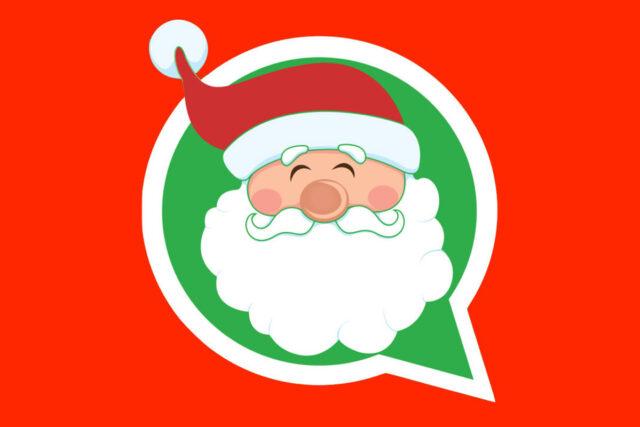 Adesivi WhatsApp Natale