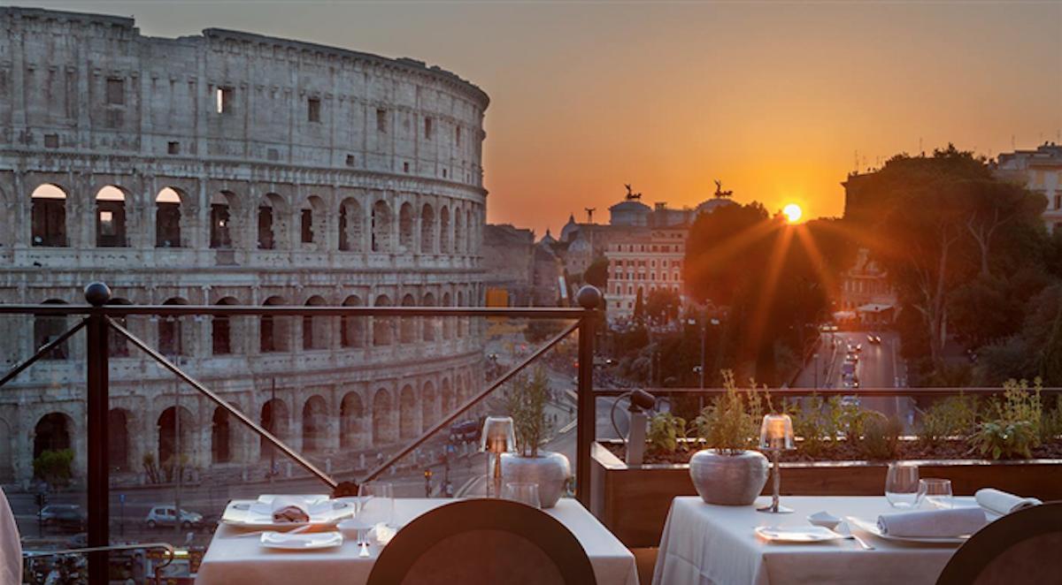 Aroma ristorante romantico Roma