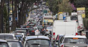 Blocco traffico Roma 23 febbraio 2020