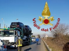 incidente Via casilina