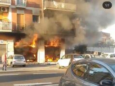 incendio Prenestina