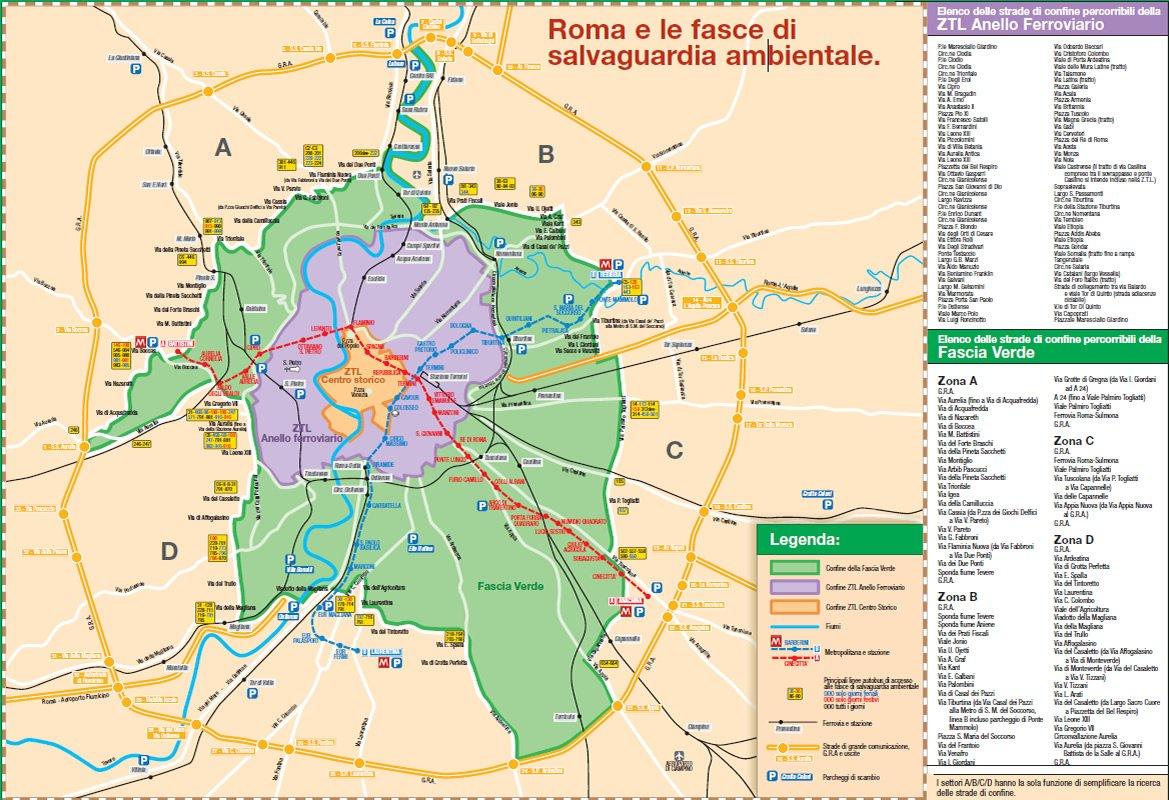 Cartina Roma Stadio Olimpico.Roma Blocco Auto E Cortei Di Carnevale La Mappa Con Tutte Le Informazioni