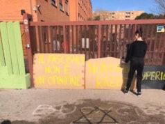 scritte antisemite pomezia