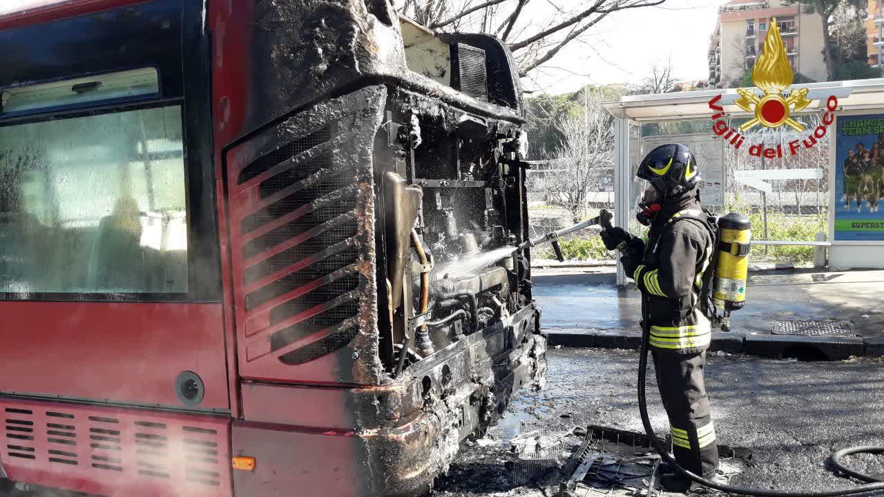 Un altro bus sanificato secondo la procedura Atac