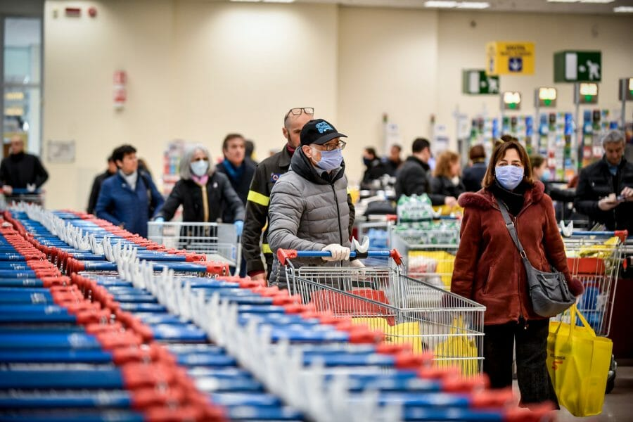 green pass supermercati obbligatorio