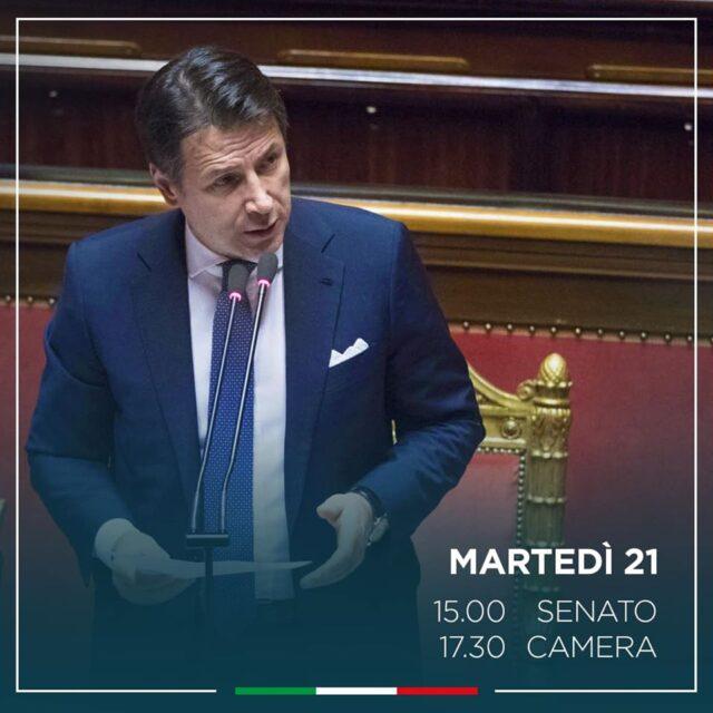 Diretta Conte Oggi  Il Discorso Del Premier Alla Camera Video
