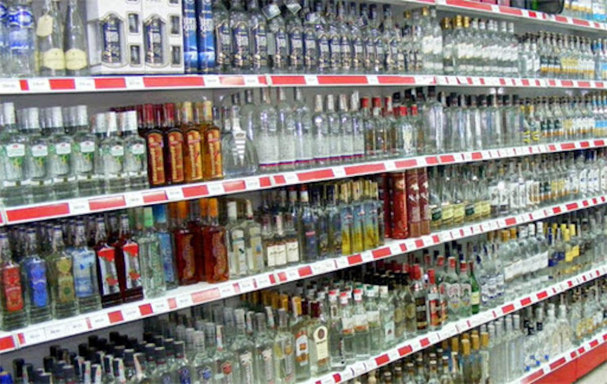 alcool in strada e d'asporto