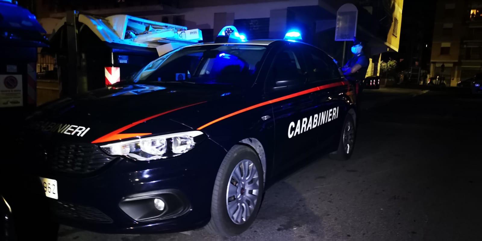 Alt Carabinieri Sabaudia ubriaco alla guida