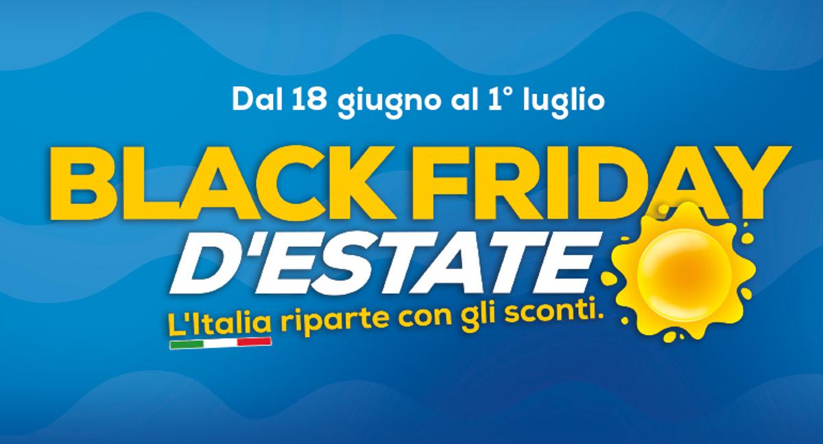 Volantino Euronics Black Friday Estate