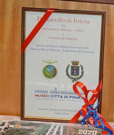 Museo Città di Pomezia, Laboratorio del Novecento: siglata i