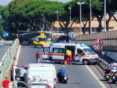 incidente via appia