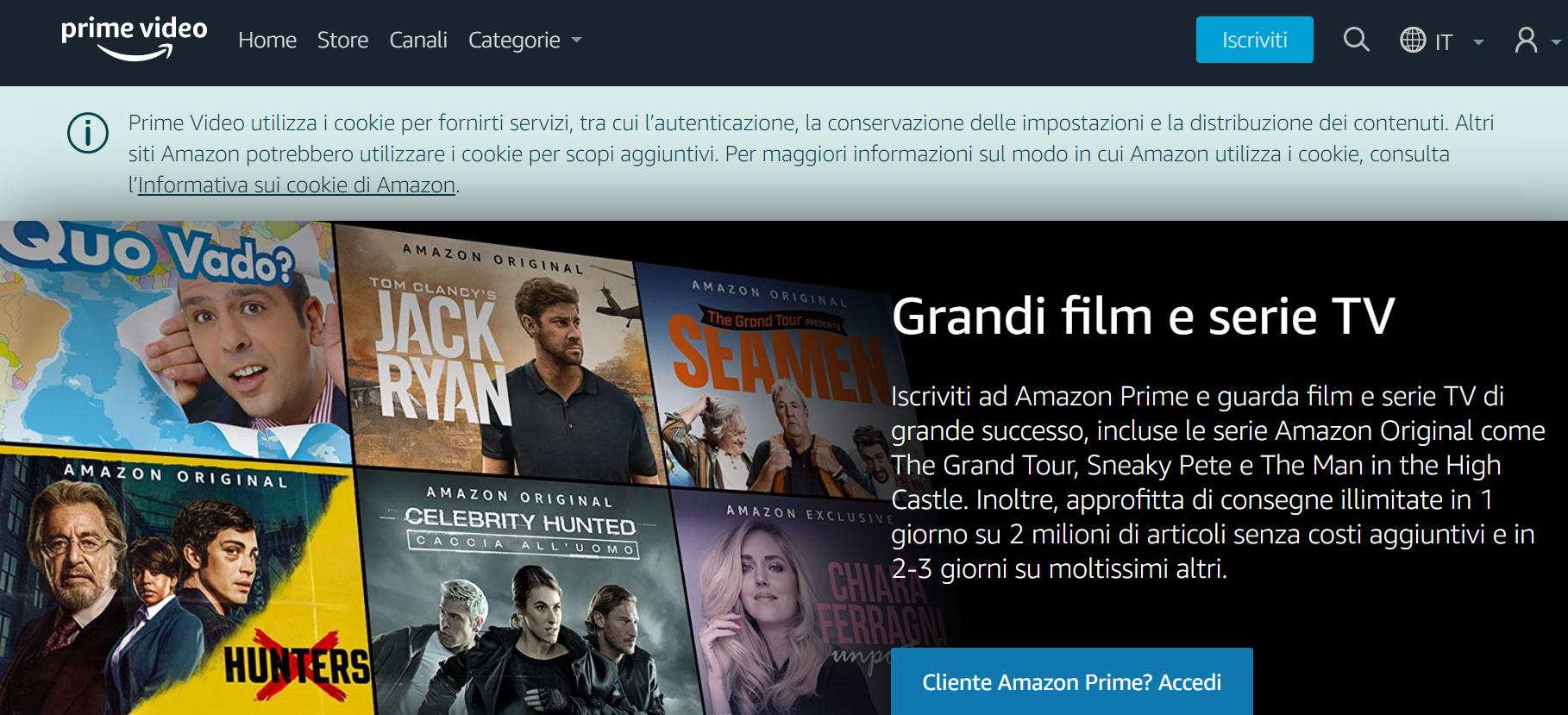 Amazon Prime Video partite di Champions League come vederle