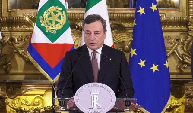 Conferenza stampa Draghi 16 aprile 2021
