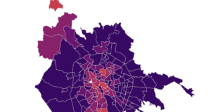 Mappa Coronavirus Roma, quartiere per quartiere