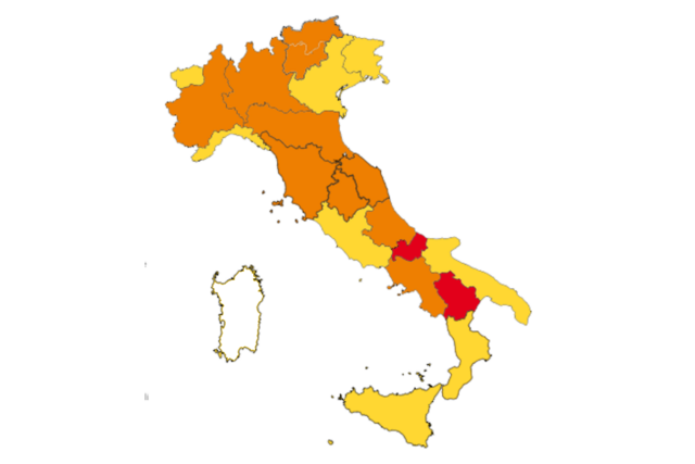 Cartina Regionale Dell Italia.Cartina Regioni Italia