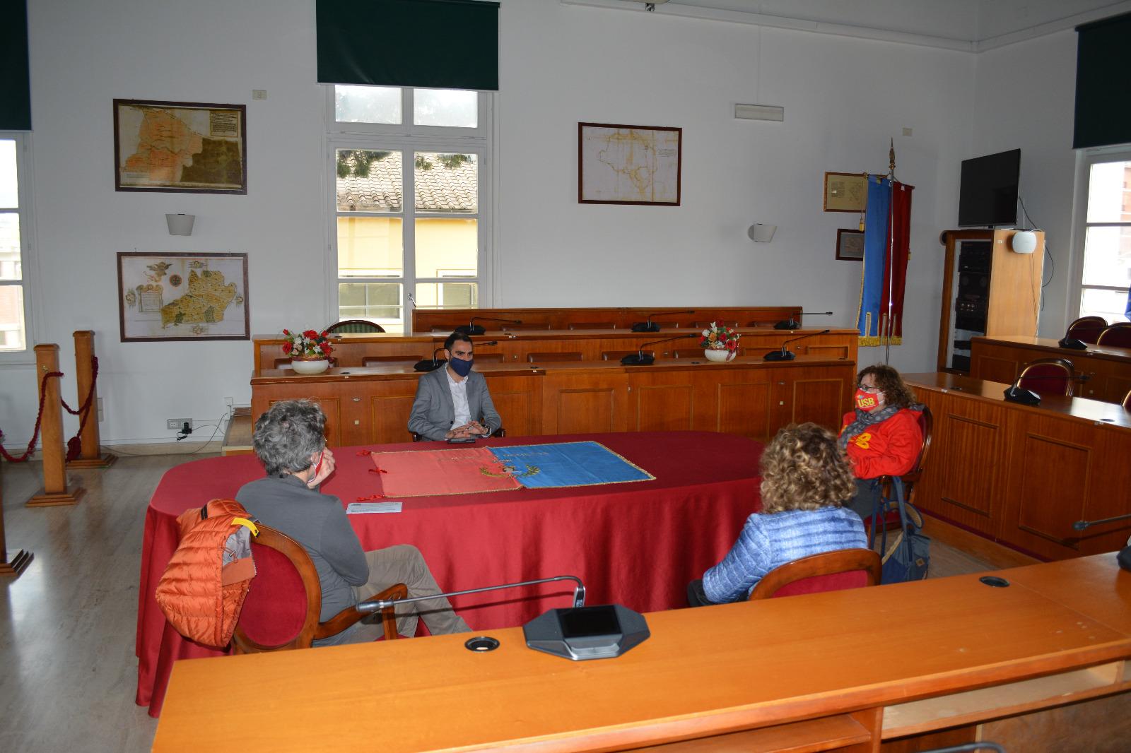 Delegazione Inps Pomezia
