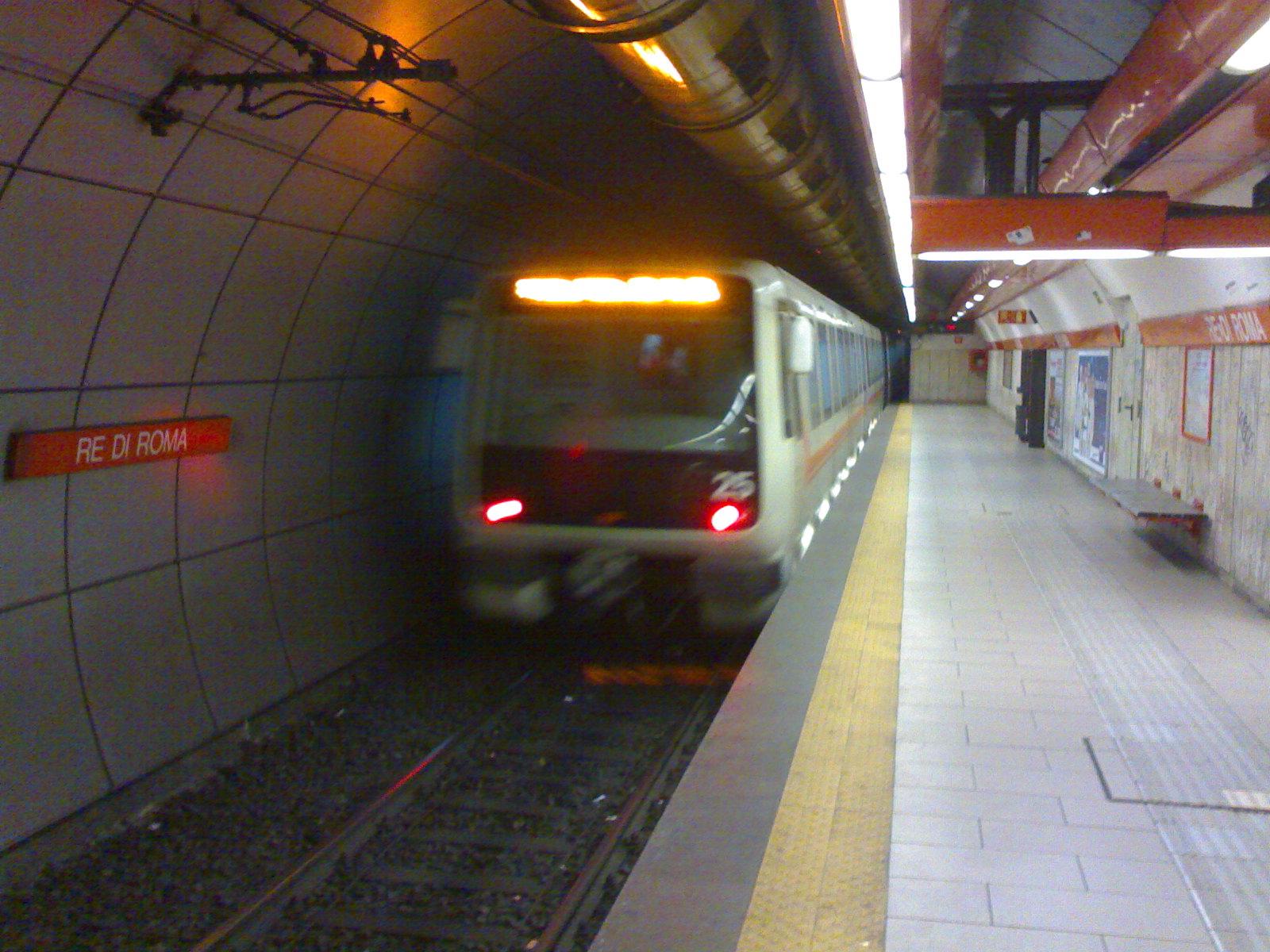 metro chiusa