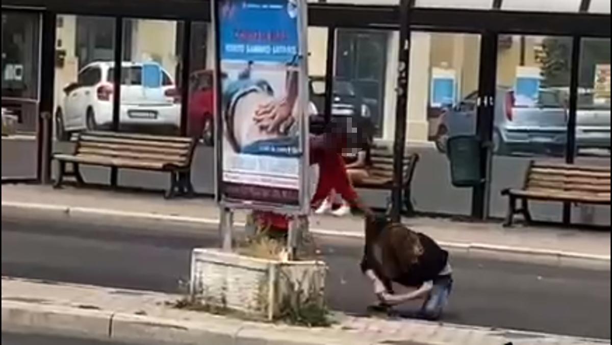 donna picchiata rieti