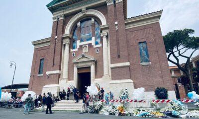 funerali ostia David e Daniel