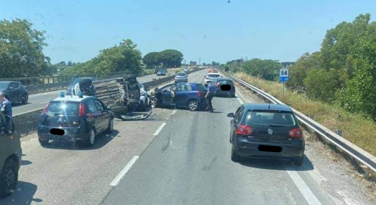 incidente pontina oggi
