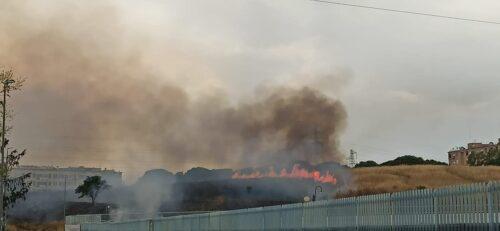 incendio Roma Est